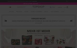 Topshop Webseiten Screenshot