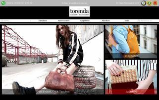 torenda Webseiten Screenshot