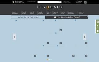 Torquato Webseiten Screenshot