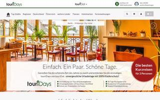 touriDat Webseiten Screenshot
