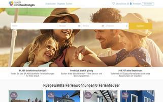 Traum-Ferienwohnungen.de Webseiten Screenshot