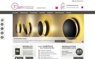 Traumambiente Webseiten Screenshot