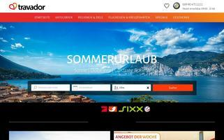travador Webseiten Screenshot
