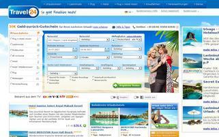 Travel24 Webseiten Screenshot