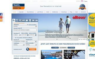 TravelScout24 Webseiten Screenshot