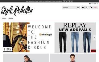 TRENDS4GENTS Webseiten Screenshot