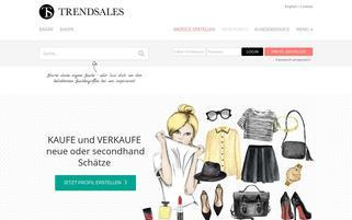 Trendsales Webseiten Screenshot