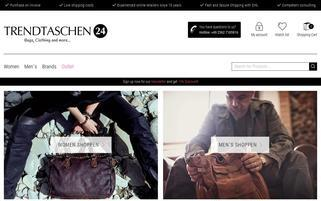 Trendtaschen24 Webseiten Screenshot
