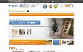 Treppen Intercon Webseiten Screenshot
