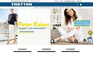tretter.com Webseiten Screenshot