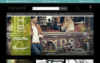 Tretwerk Webseiten Screenshot