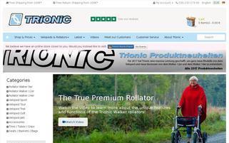 Trionic-Veloped Webseiten Screenshot