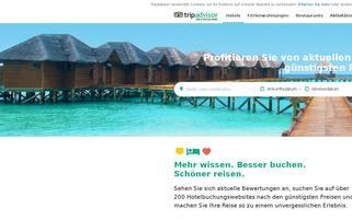 Tripadvisor Webseiten Screenshot