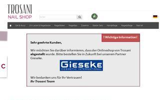 trosani.de Webseiten Screenshot