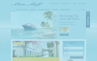 TUI Cruises Webseiten Screenshot