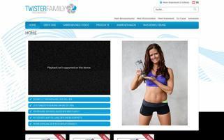 Twister Webseiten Screenshot