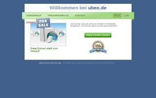 ubeo.de Webseiten Screenshot