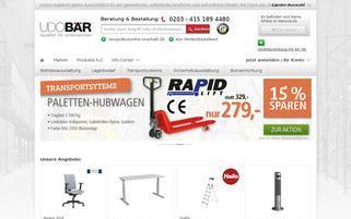 Udo Bär Webseiten Screenshot