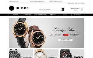 Uhr.de Webseiten Screenshot