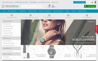 Uhrenarmbandwelt.com Webseiten Screenshot