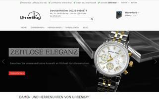 Uhrenbay Webseiten Screenshot