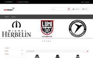 uhrenvielfalt.de Webseiten Screenshot