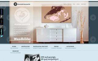 ultraschall-leinwand.de Webseiten Screenshot