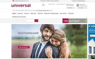 Universal Österreich Webseiten Screenshot