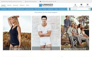 UNWAGO Webseiten Screenshot