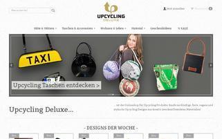 upcycling-deluxe.com Webseiten Screenshot