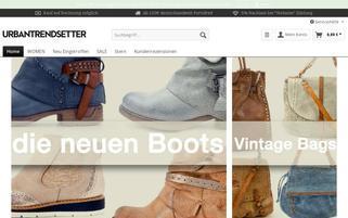 urbantrendsetter Webseiten Screenshot