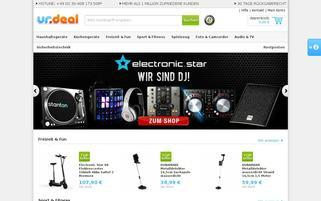 Urdeal Webseiten Screenshot