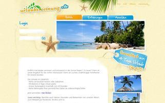 urlaubsmeinung.de Webseiten Screenshot