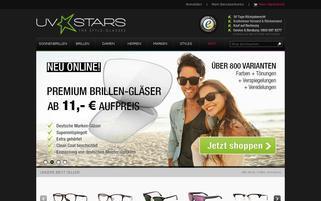 UVStars Webseiten Screenshot