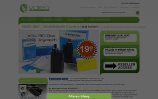 valeo-one.de Webseiten Screenshot