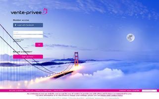 vente-privee.com Webseiten Screenshot