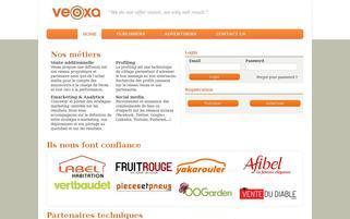 veoxa.com Webseiten Screenshot