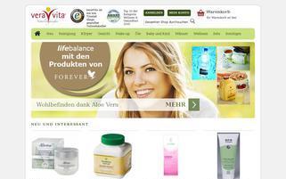 veraVita Webseiten Screenshot