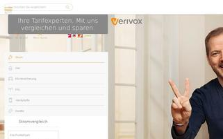 Verivox Webseiten Screenshot