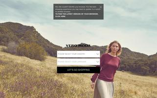 Vero Moda Webseiten Screenshot