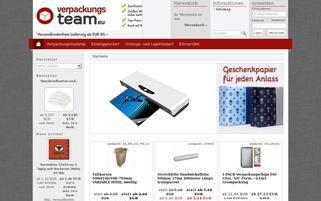 Verpackungsteam.eu Webseiten Screenshot