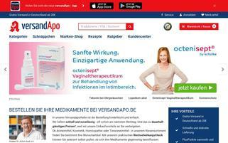 VersandApo Webseiten Screenshot