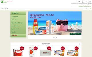 Versandapotheke-Allgäu Webseiten Screenshot