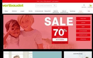 Vertbaudet Webseiten Screenshot