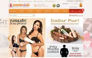 Verwöhn dich Webseiten Screenshot