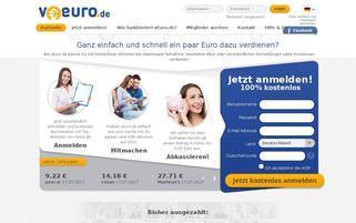 vEuro Webseiten Screenshot