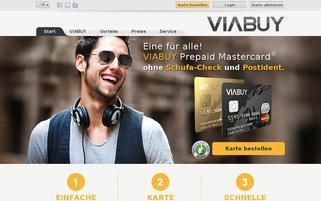 VIABUY Webseiten Screenshot