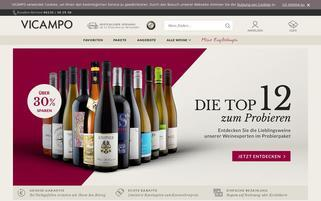Vicampo Webseiten Screenshot