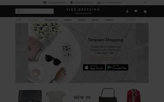 Videdressing Webseiten Screenshot