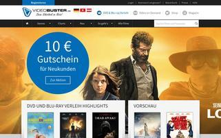 videobuster.de Webseiten Screenshot